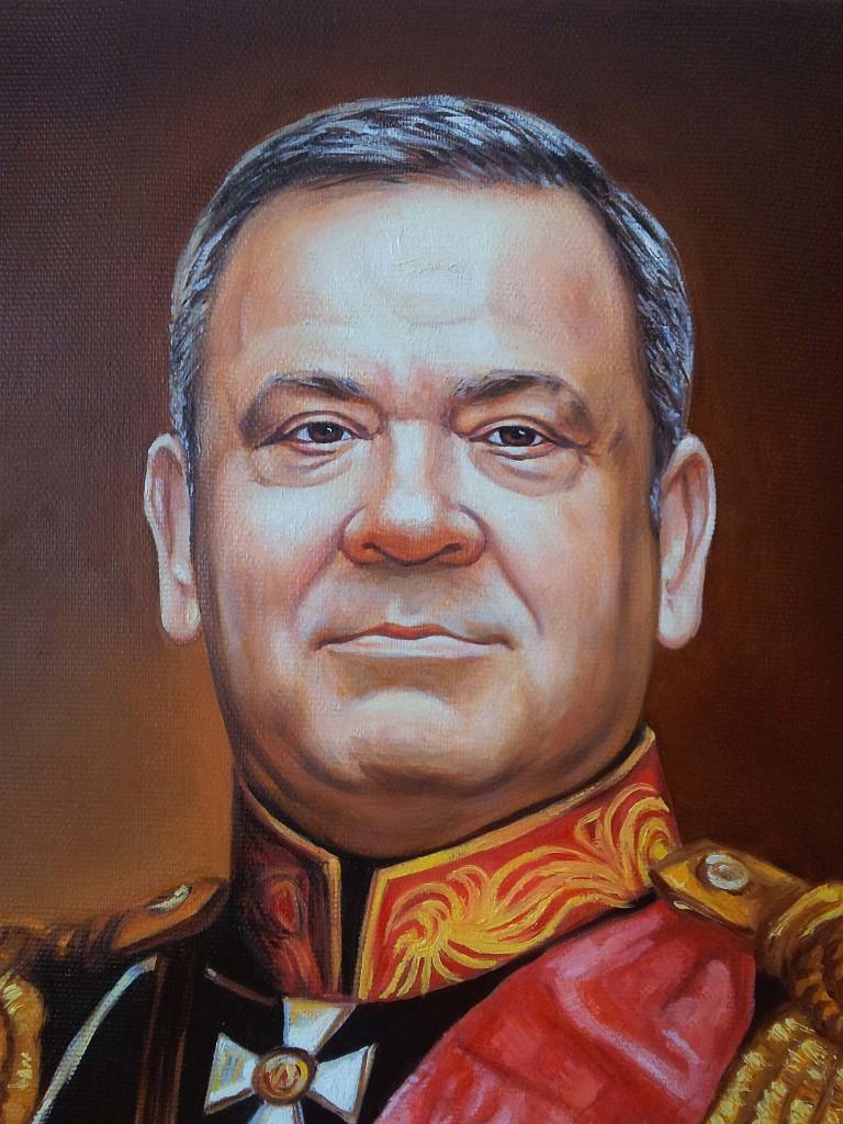 Портрет маслом на холсте в Ставрополе