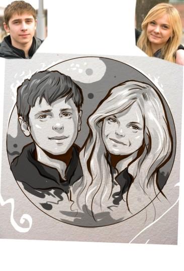 Заказать портрет на годовщину свадьбы в Ставрополе