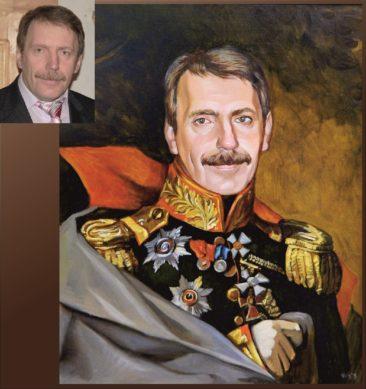 Настоящий портрет маслом на заказ в Ставрополе…