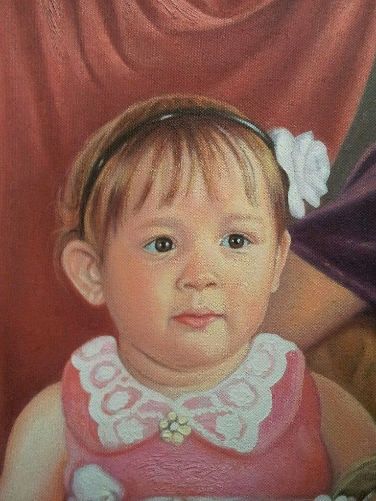 Портрет маслом семейный Ставрополь