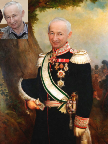 Где заказать исторический портрет по фото на холсте в Ставрополе?