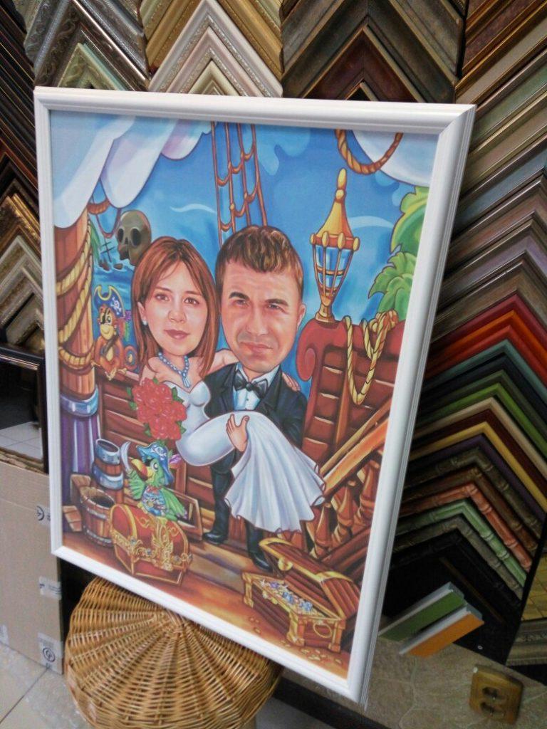 шарж по фото на заказ в Ставрополе