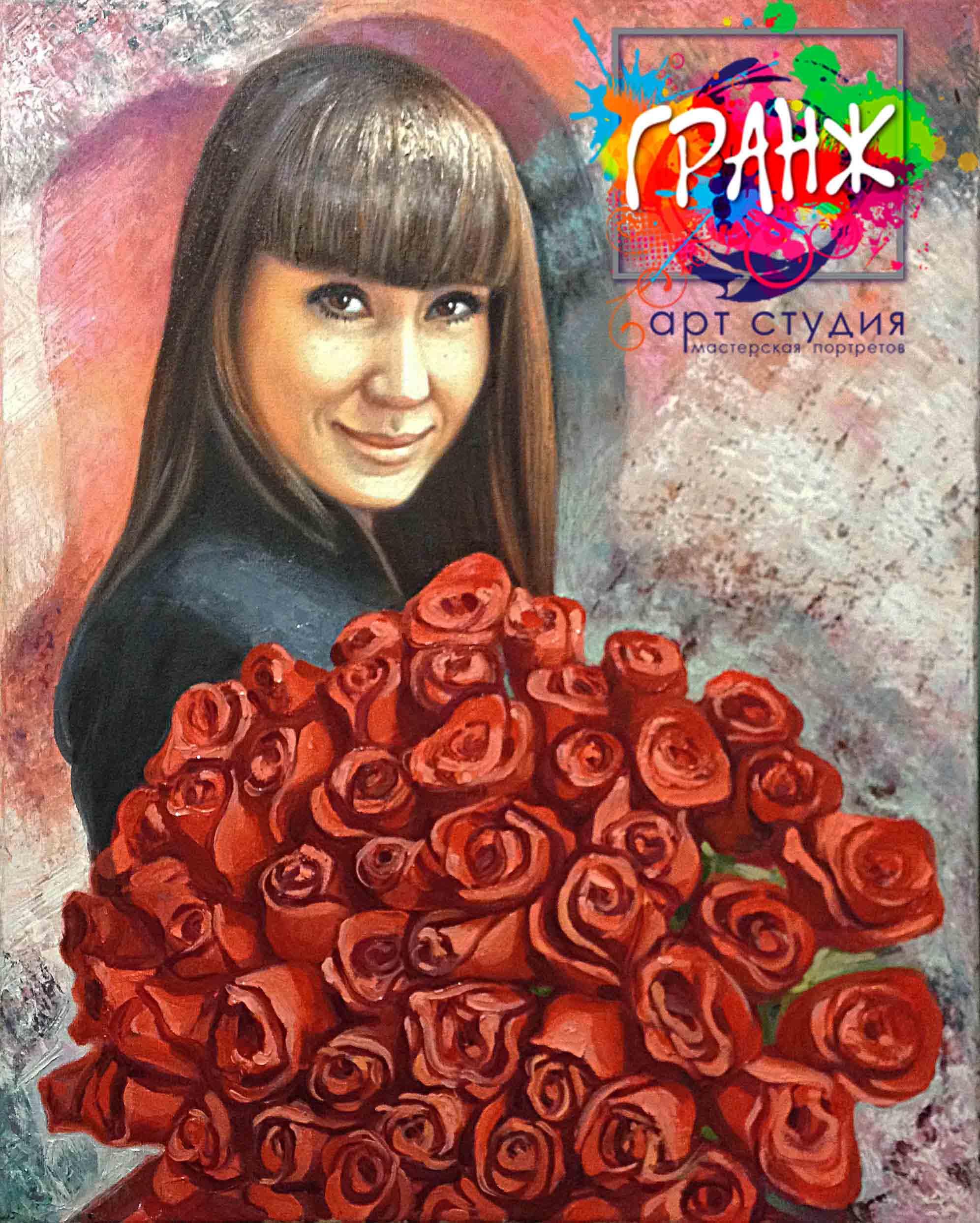 Заказать портрет маслом по фотографии в Ставрополе