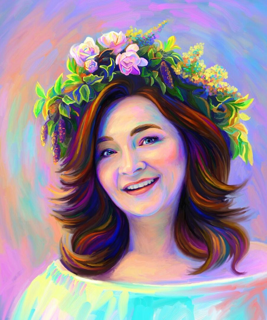 арт портрет картинки снимке певец вместе