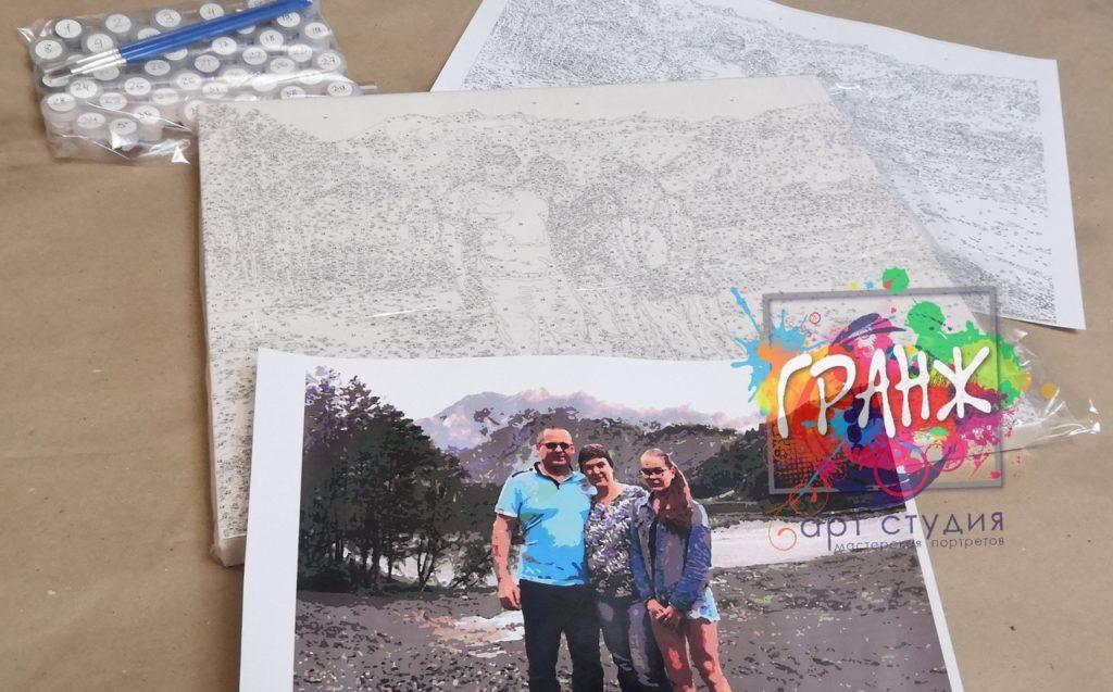 картин по номерам на холсте по фото в Ставрополе