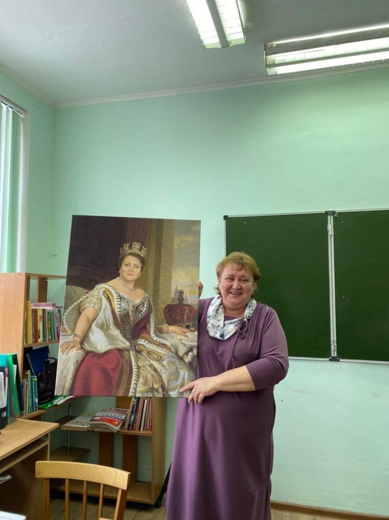 Заказать портрет учителю